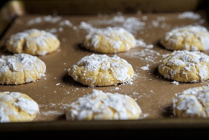 Gooey Butter Cake Cookies Without Cake Mix