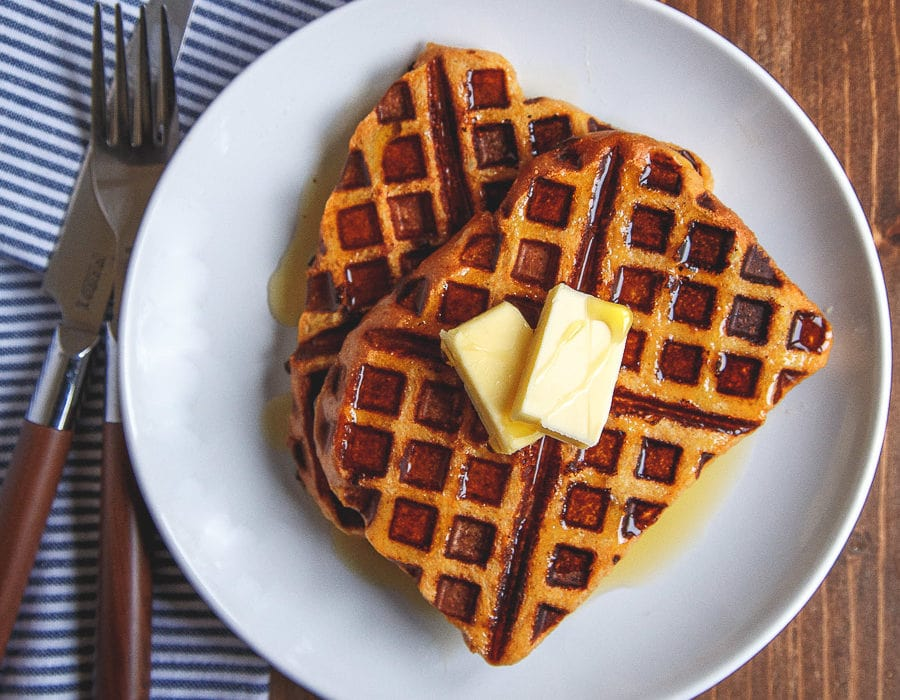 Quick and easy pumpkin french toast recipe