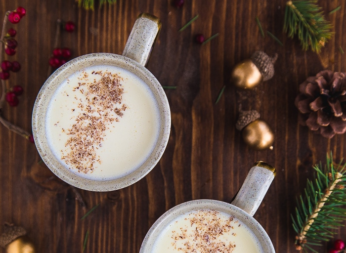 Egg nog for two