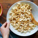Caramel Popcorn Balls, naturally