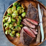 Dinner for Two: Cowboy Steaks 'n Sprouts