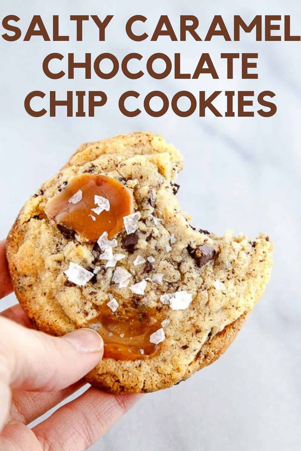 caramel chocolate chip cookies small batch