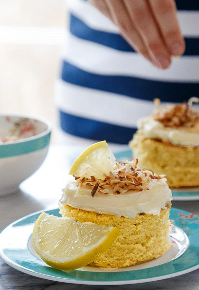 Lemon Mini Cakes