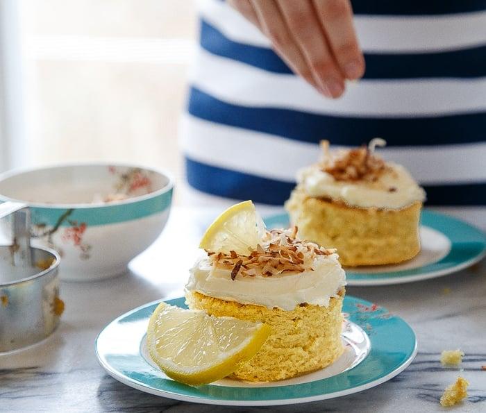 Lemon Mini Cakes
