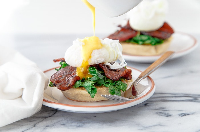 Egg Benedict for two