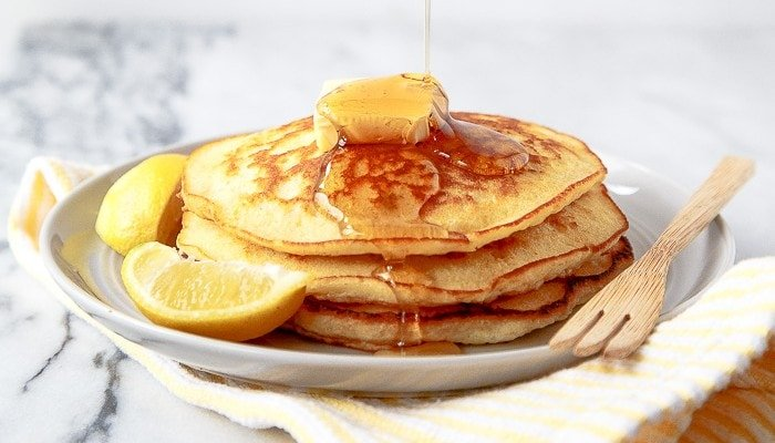 Lemon Cream Pancakes