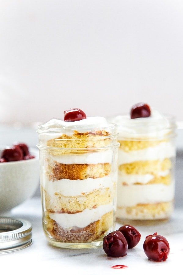 Recipe for easy shortcut Tres Leches Cake @dessertfortwo