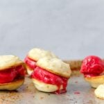 Raspberry Limeade Ice Cream Sandwiches