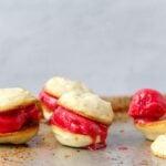 Raspberry Limeade Ice Cream Sandwiches