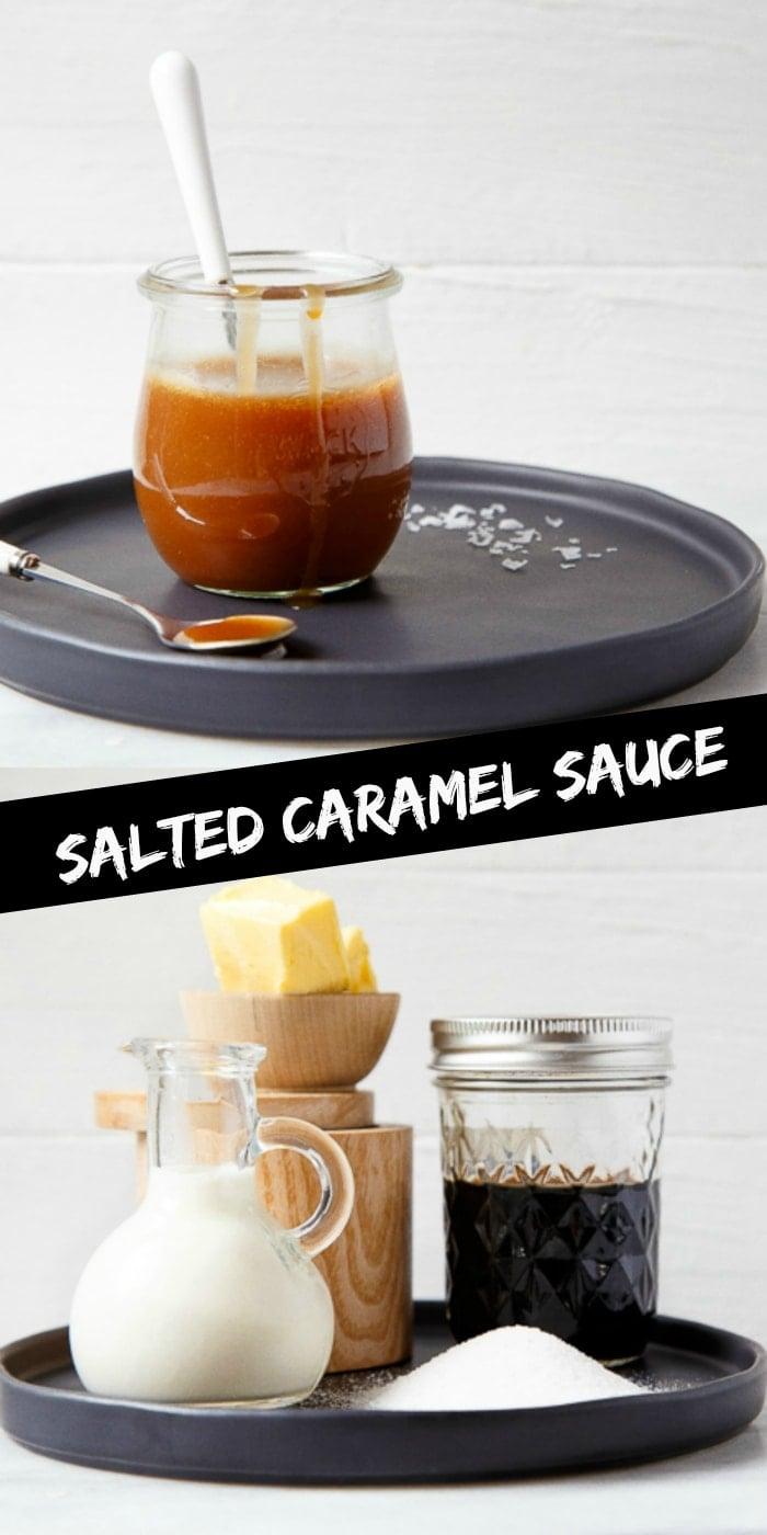 Homemade Salted Caramel Sauce Recipe, small-batch!