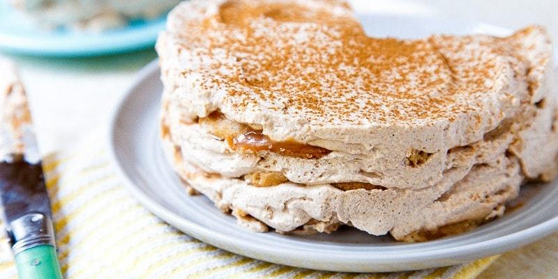 Chai Caramel Ice Box Cake