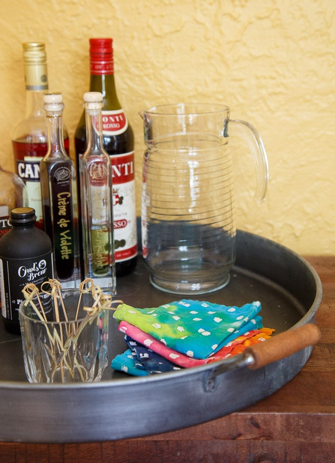 Switch to cloth napkins in your kitchen!