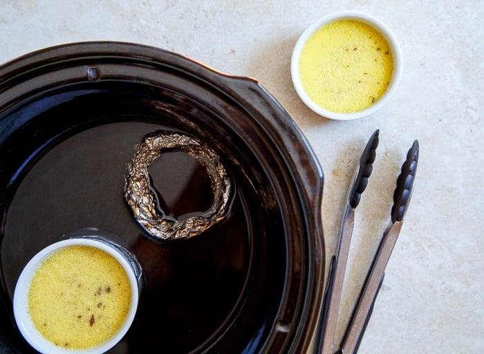 Crockpot creme brûlée!