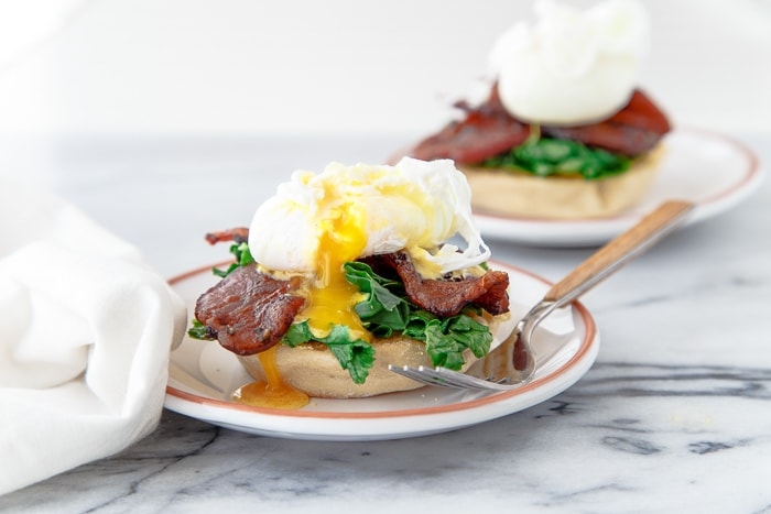 Eggs Benedict for two