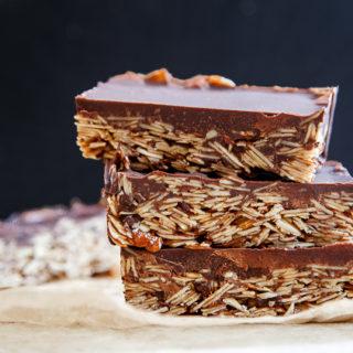Paleo chocolate candy bars