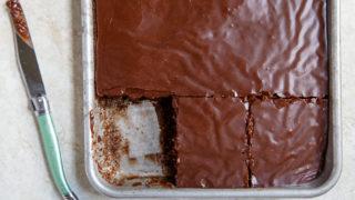 Quarter Sheet Cake Texas Chocolate Sheet Cake