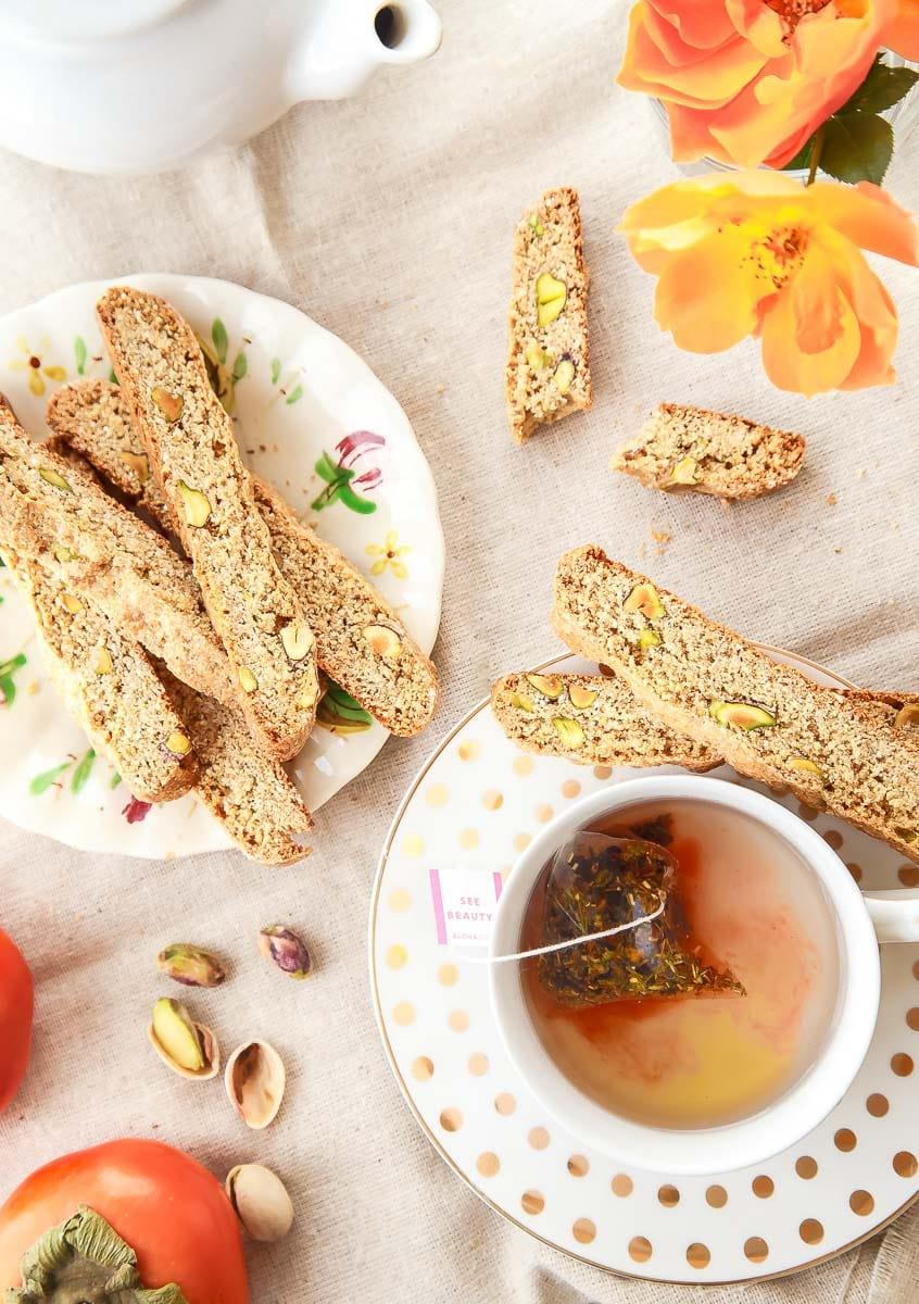 Whole wheat biscotti recipe