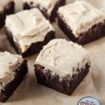 Beer Brownies made with Coffee Stout Beer