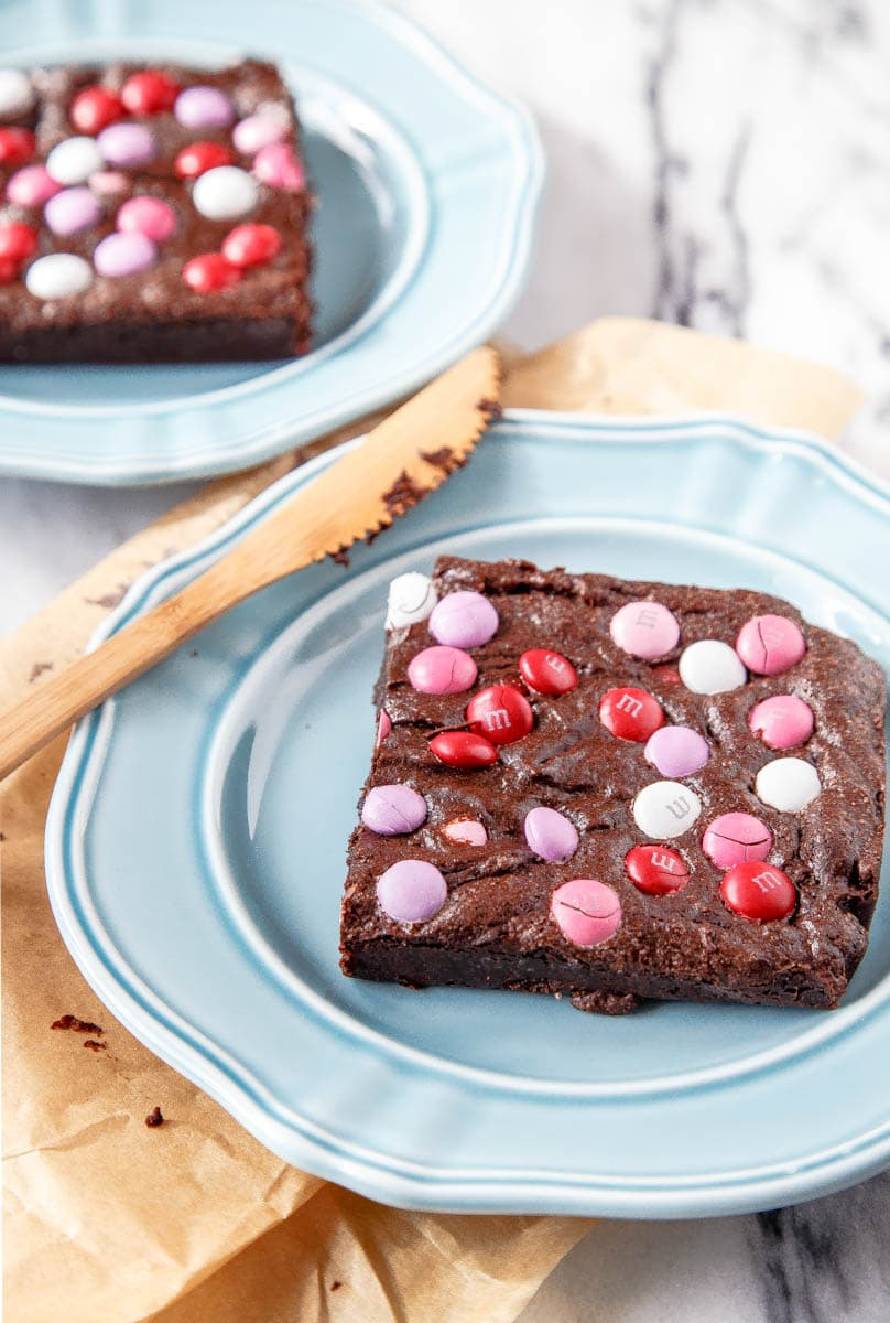 Small Batch Brownies For Two In A Loaf Pan Dessert For Two