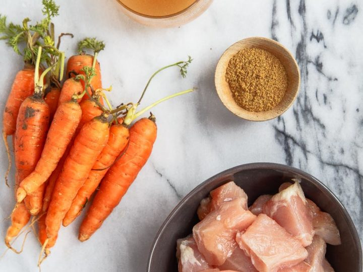 Baby Food: Chicken Carrot Baby Puree