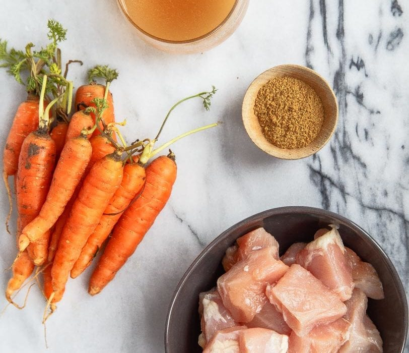 Homemade Baby Food Chicken And Carrot Puree