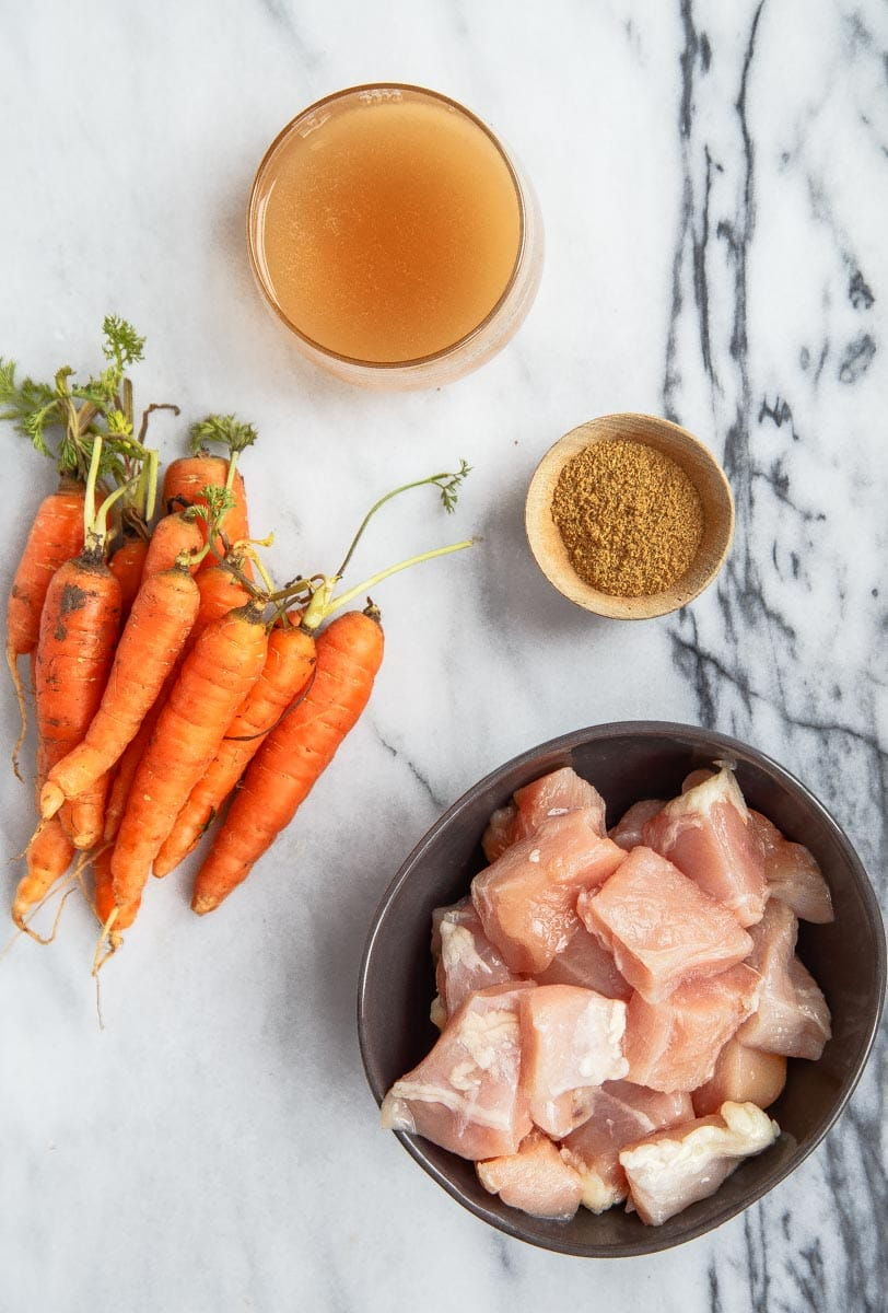 Homemade Baby Food: Chicken and Carrot Puree