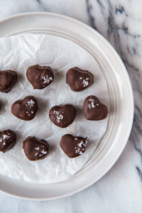Salty Chocolate Peanut Butter Hearts