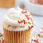 Half-dozen Funfetti Cupcakes!