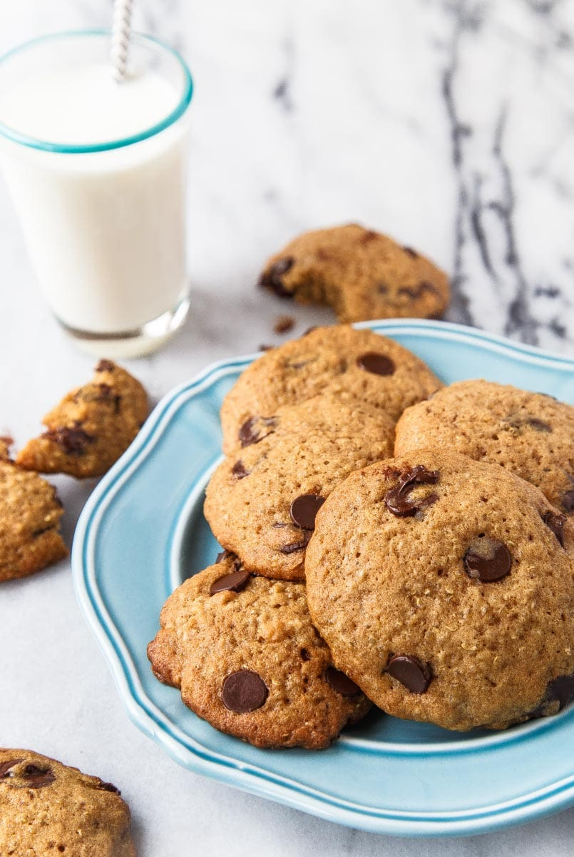Chocolate Chip Cookies with Quinoa