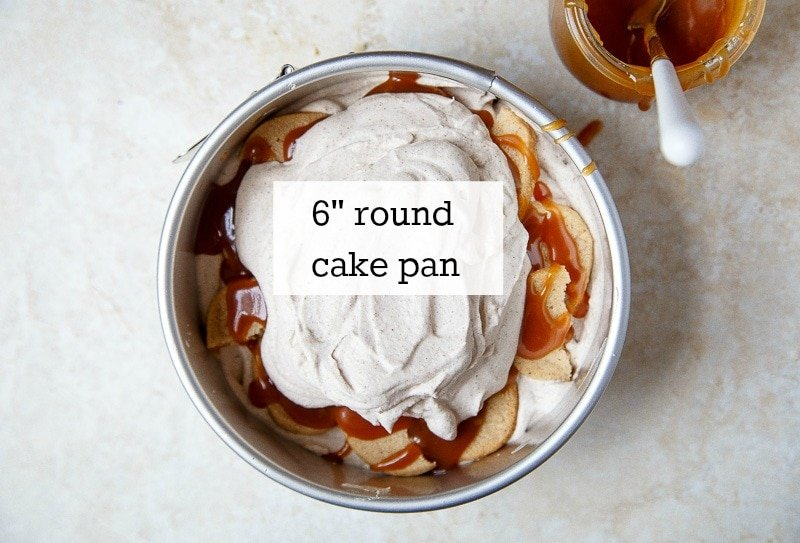 Small 6 inch round cake pan