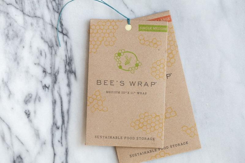 Alternative to Plastic Wrap: bee's wrap