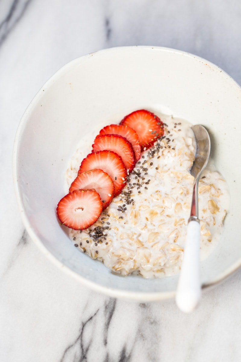 Coconut Milk Oatmeal for Baby
