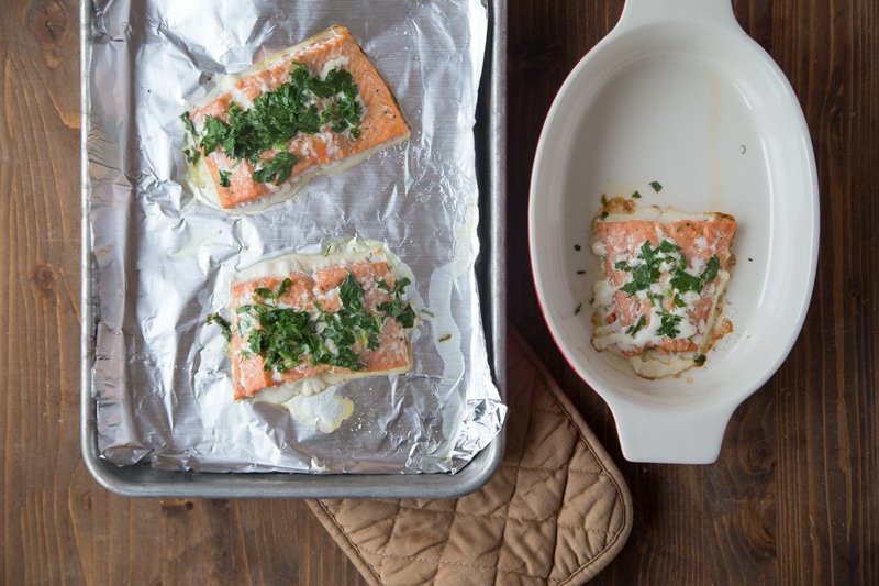 How to make salmon for babies