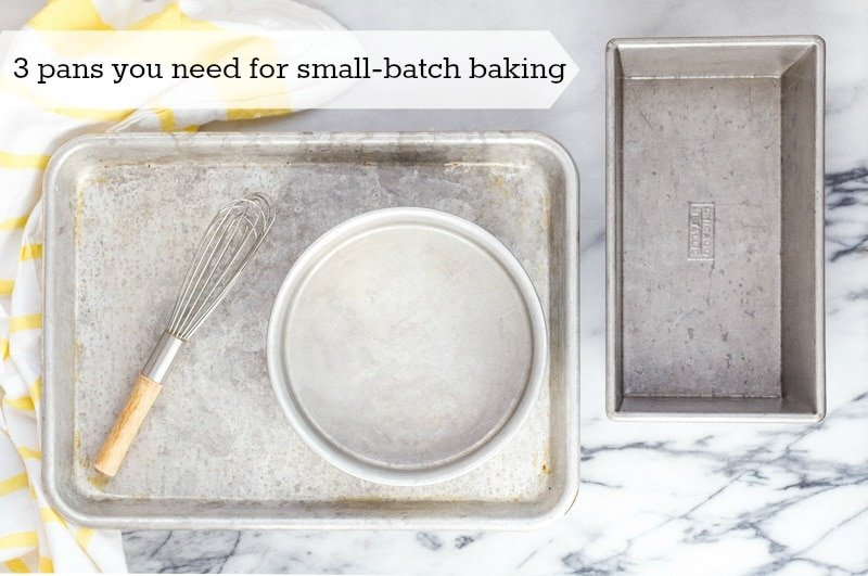 Tips for small batch baking