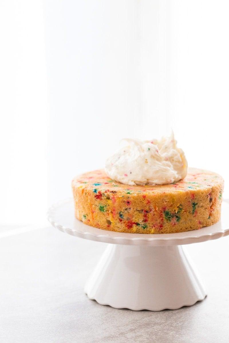 Homemade Funfetti Layer Cake recipe