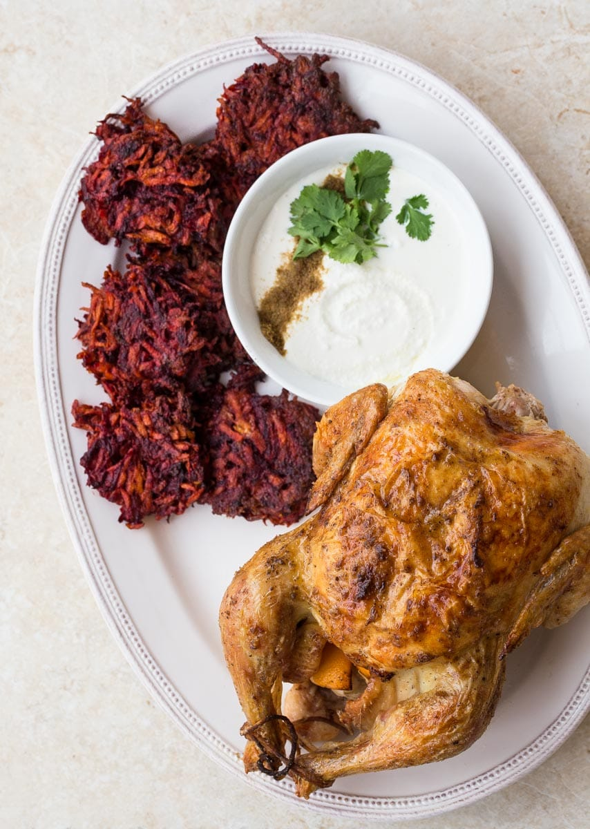 How to roast a chicken and ways to use the meat throughout the week