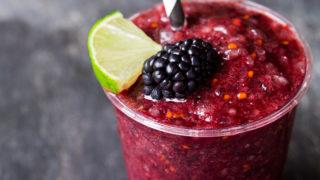 Frozen Blackberry Limeade