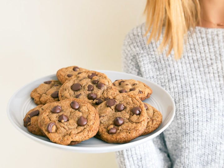 The Best Only Healthy Chocolate Chip Cookies Small Batch Recipe