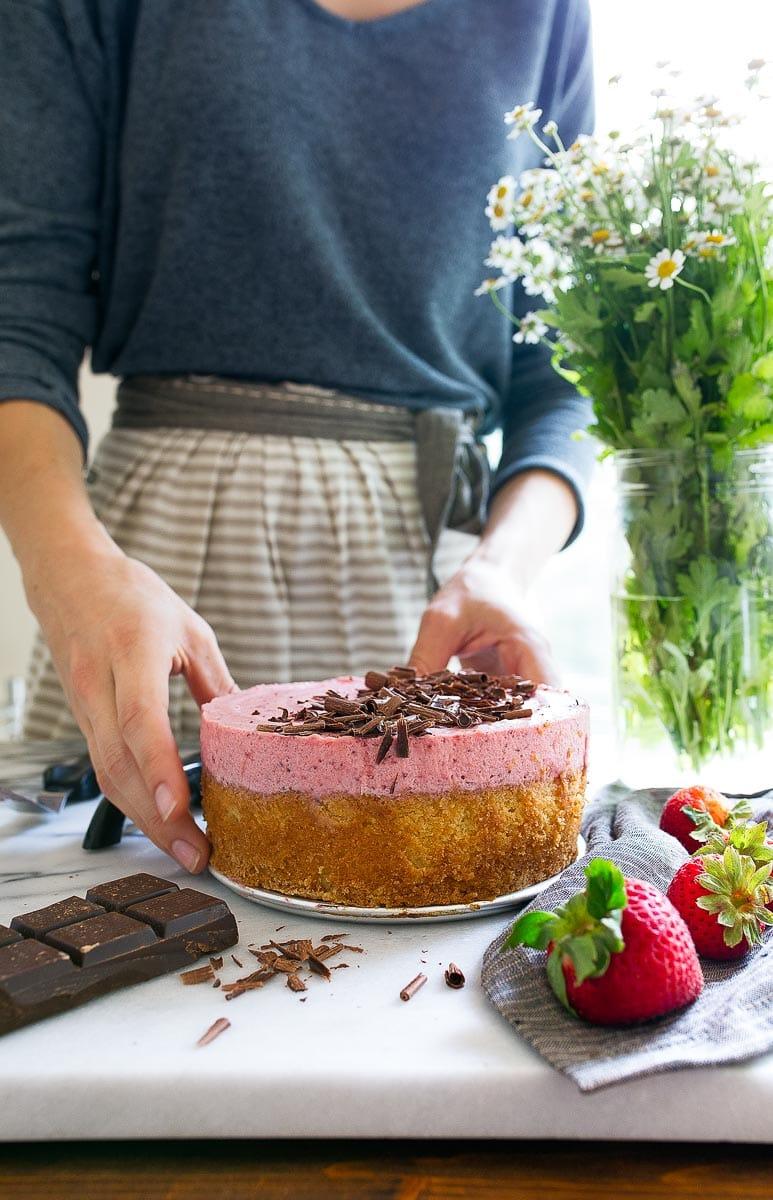 Homemade cake recipe from scratch