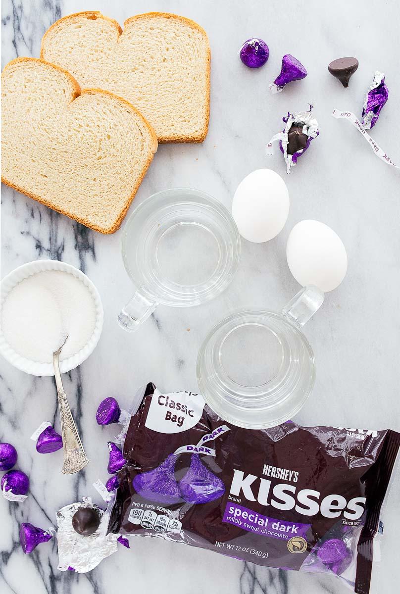 Bread Pudding Mugs Recipe