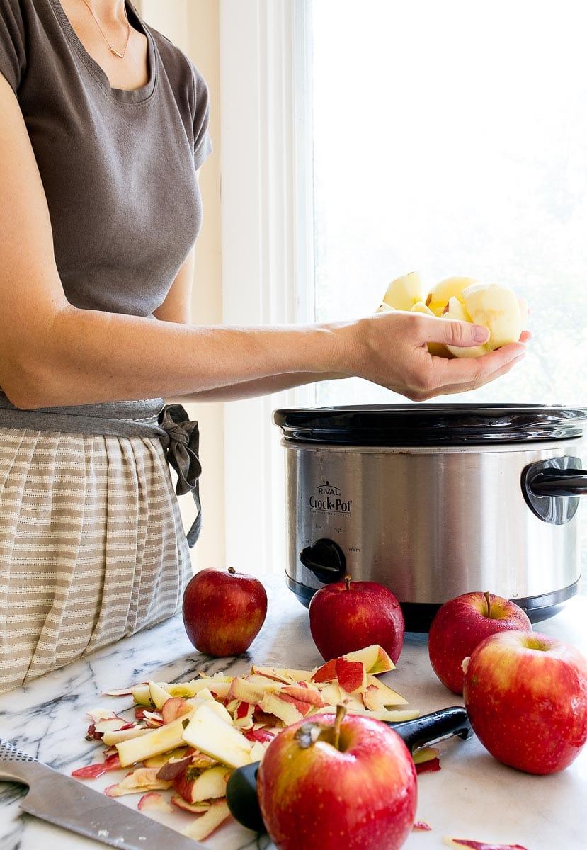 Easy crockpot apple butter recipe