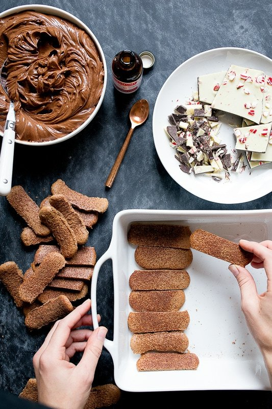 A small batch of chocolate tiramisu
