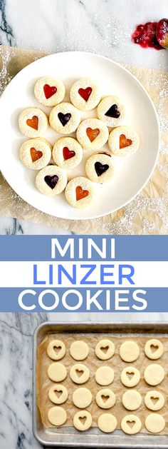 Linzer Cookie Recipe with Boozy Jam Fillings. A roll out and cut out sugar cookie dough recipe that's easy to work with, plus it's a small batch!