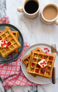 Pumpkin Waffles (for baby)
