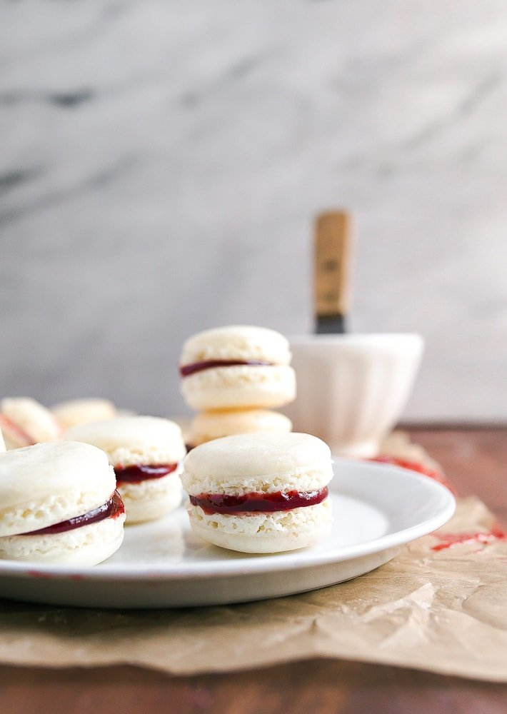 Homemade French macarons recipe