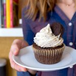 Cookies and Cream Cupcakes, Small Batch Recipe