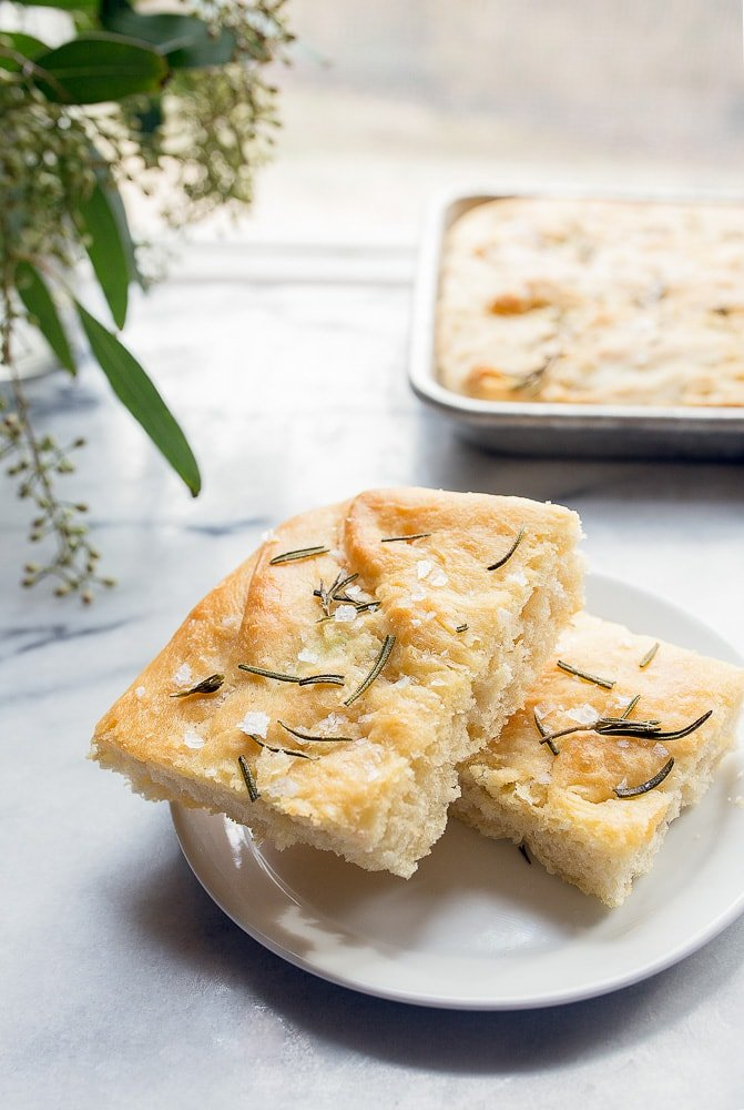 Small batch focaccia bread recipe