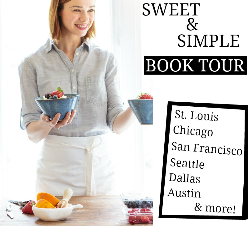 dessert for two christina lane book tour details