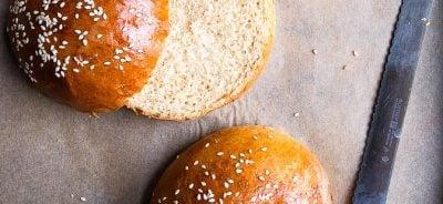 Brioche buns make the best hamburger buns.