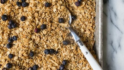 Nut-Free Granola made with seeds and hemp hearts